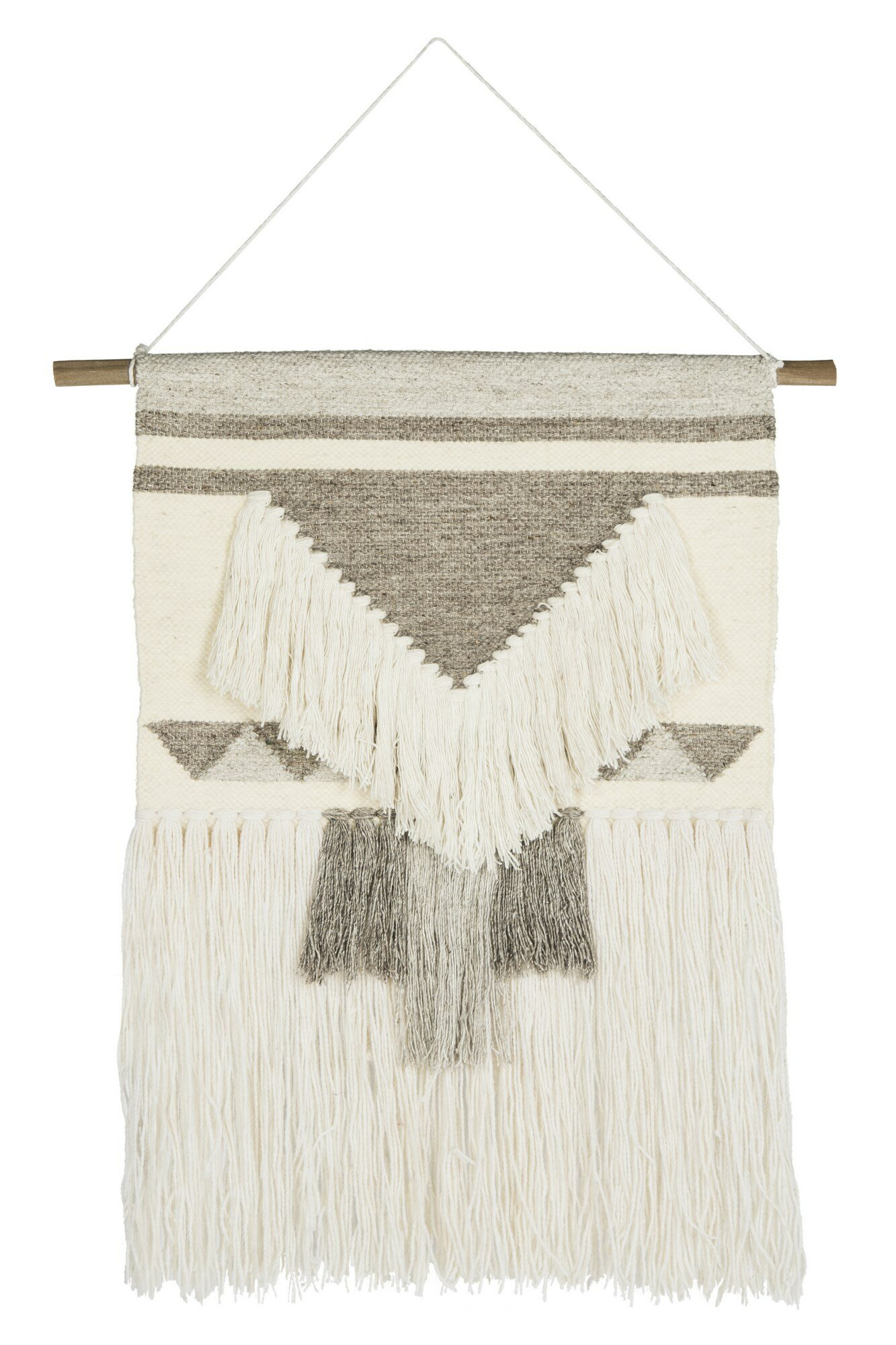 Wool Wall Hanging In 2018 Blended Fabric Teresina Wool And Viscose Wall Hangings With Hanging Accessories Included (View 8 of 20)