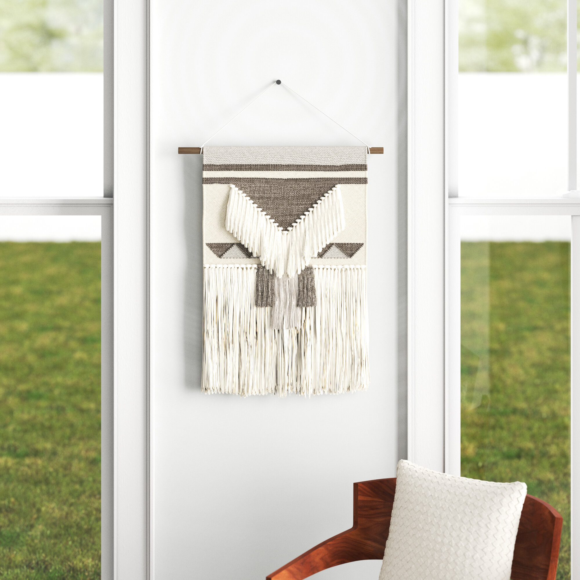 Wool Wall Hanging Intended For Most Popular Blended Fabric Saber Wall Hangings With Rod (View 14 of 20)