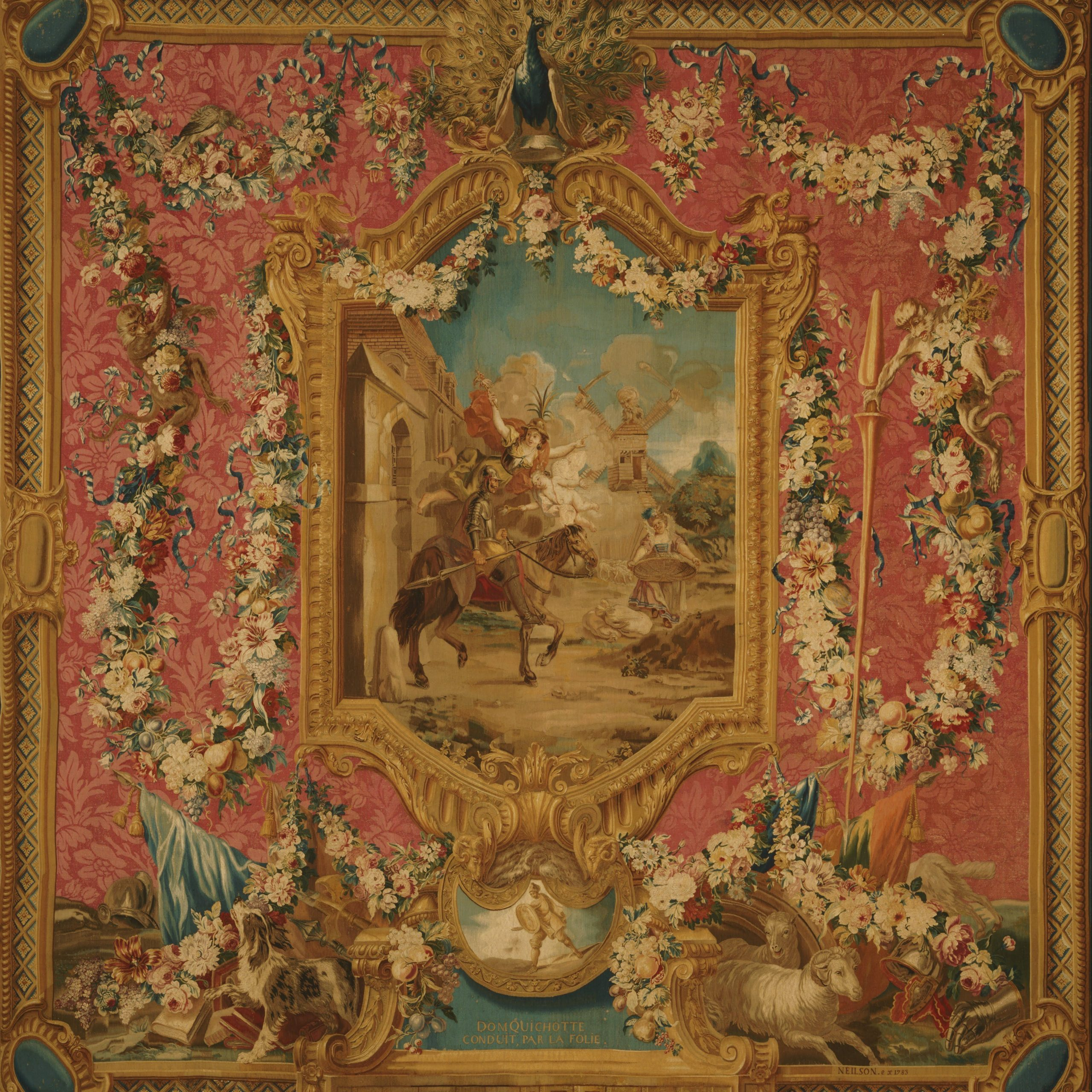 Woven At The Gobelins Tapestry Manufactory, Paris, 1699 For Latest Grandes Armoiries I European Tapestries (View 11 of 20)
