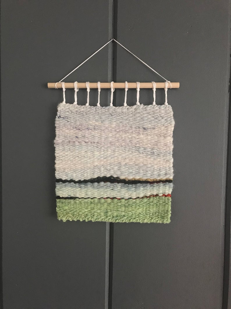 Woven Wall Hanging, Wall Weaving, Hand Woven, Wall Tapestry, Woven Wall  Tapestry, Wall Art, Weaving, Fiber Art Inside Best And Newest Hand Woven Wall Hangings (View 17 of 20)