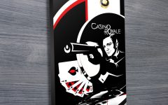 James Bond Canvas Wall Art