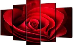 Roses Canvas Wall Art