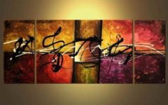 Abstract Jazz Band Wall Art
