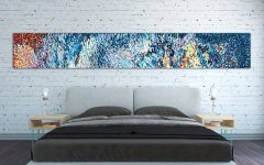 Horizontal Abstract Wall Art