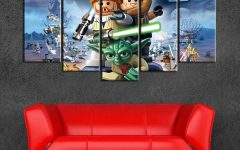 Lego Star Wars Wall Art