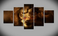 Five Piece Canvas Wall Art