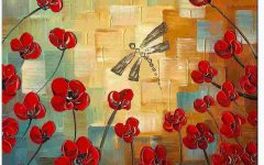 Dragonfly Painting Wall Art