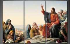 Jesus Canvas Wall Art