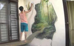 3d Artwork on Wall