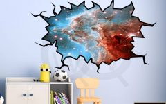 Space 3d Vinyl Wall Art