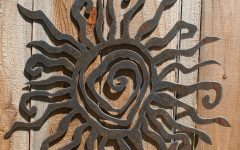 Metal Large Outdoor Wall Art
