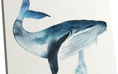 Whale Canvas Wall Art