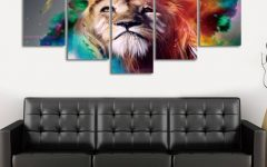 Colorful animal Wall Art