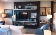 Wall Accents Behind Tv