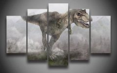 Dinosaur Canvas Wall Art