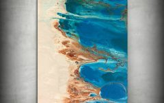 Abstract Beach Wall Art