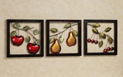 Kitchen Metal Wall Art Decors