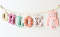 Fabric Name Wall Art