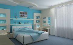 Light Blue Wall Accents