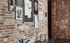 Exposed Brick Wall Accents