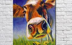 Cow Canvas Wall Art