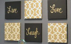 Black And Gold Wall Art