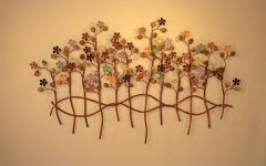 Botanical Metal Wall Art