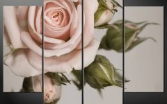 Rose Canvas Wall Art