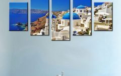 Greece Canvas Wall Art