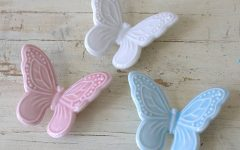 Ceramic Butterfly Wall Art