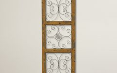 Maxwell Wood and Metal Wall Decor