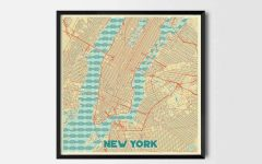 City Prints Map Wall Art