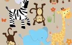 Safari Animal Wall Art