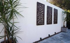 Contemporary Outdoor Wall Art