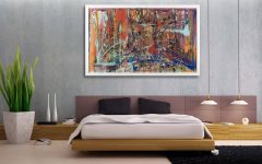 Oversized Abstract Wall Art