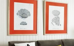 Framed Coral Art Prints
