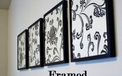 Iron Fabric Wall Art