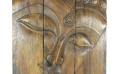 Buddha Wooden Wall Art