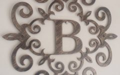 Metal Wall Art Letters