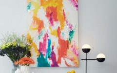 West Elm Abstract Wall Art