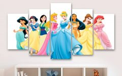 Disney Princess Wall Art
