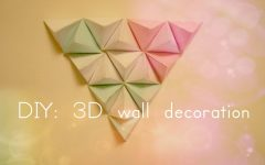 Diy 3D Paper Wall Art