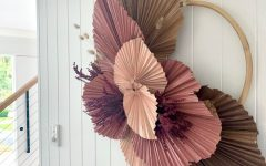 Blended Fabric Leaf Wall Hangings