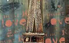 Eiffel Tower Metal Wall Art