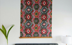 Diy Large Fabric Wall Art