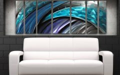 Oversized Metal Wall Art