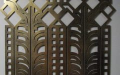 Art Deco Metal Wall Art