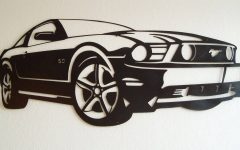 Ford Mustang Metal Wall Art