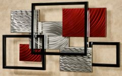 Abstract Outdoor Metal Wall Art