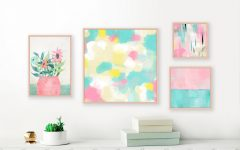 Pastel Abstract Wall Art